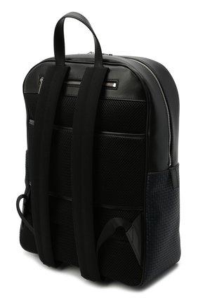 Мужской рюкзак stepan SERAPIAN темно-синего цвета, арт. SRSTPMLL700631D | Фото 3 (Материал: Экокожа)