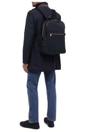 Мужской рюкзак stepan SERAPIAN темно-синего цвета, арт. SRSTPMLL700631D | Фото 5 (Материал: Экокожа)