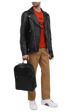 Мужской рюкзак stepan SERAPIAN черного цвета, арт. SRSTPMLL700631D | Фото 2