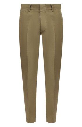 Мужские хлопковые брюки TOM FORD бежевого цвета, арт. BW141/TFP224 | Фото 1