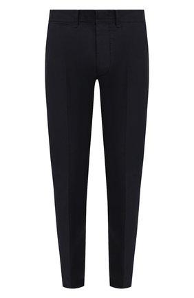 Мужские хлопковые брюки TOM FORD темно-синего цвета, арт. BW141/TFP224 | Фото 1