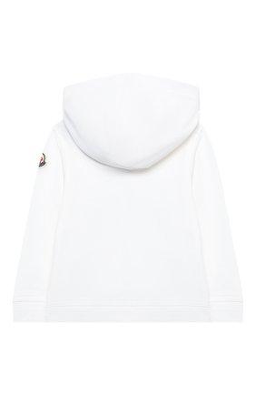 Детский комплект из толстовки и брюк MONCLER белого цвета, арт. G1-951-8M736-00-899AR | Фото 3