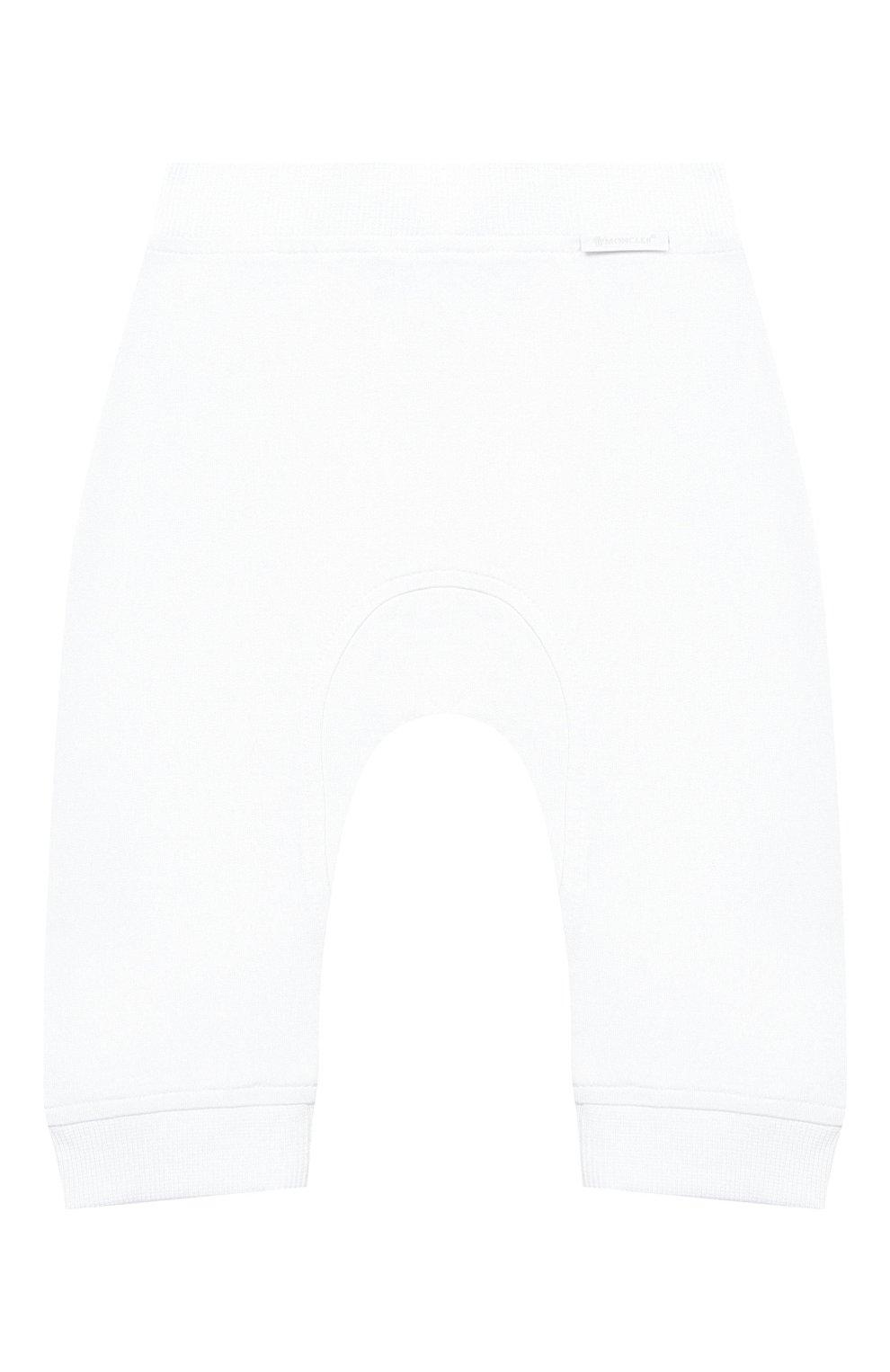 Детский комплект из толстовки и брюк MONCLER белого цвета, арт. G1-951-8M736-00-899AR | Фото 6