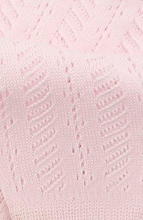 Детские хлопковые гольфы LA PERLA розового цвета, арт. 42352/7-8 | Фото 2