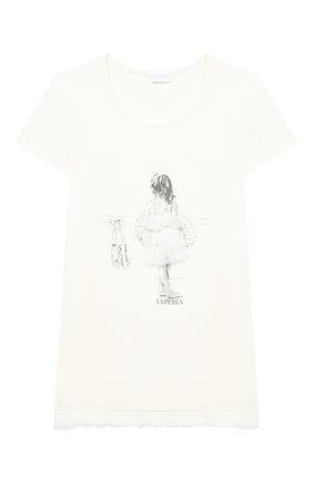Детская пижама LA PERLA бежевого цвета, арт. 70061/8A-14A | Фото 2