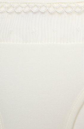 Детские трусы LA PERLA белого цвета, арт. 70067/2A-6A   Фото 3