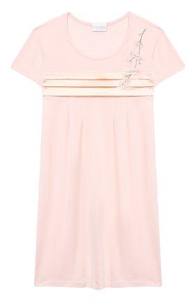Детская ночная сорочка LA PERLA розового цвета, арт. 70143/8A-14A | Фото 1