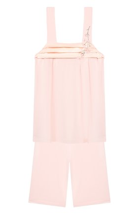 Детская пижама LA PERLA розового цвета, арт. 70151/8A-14A | Фото 1