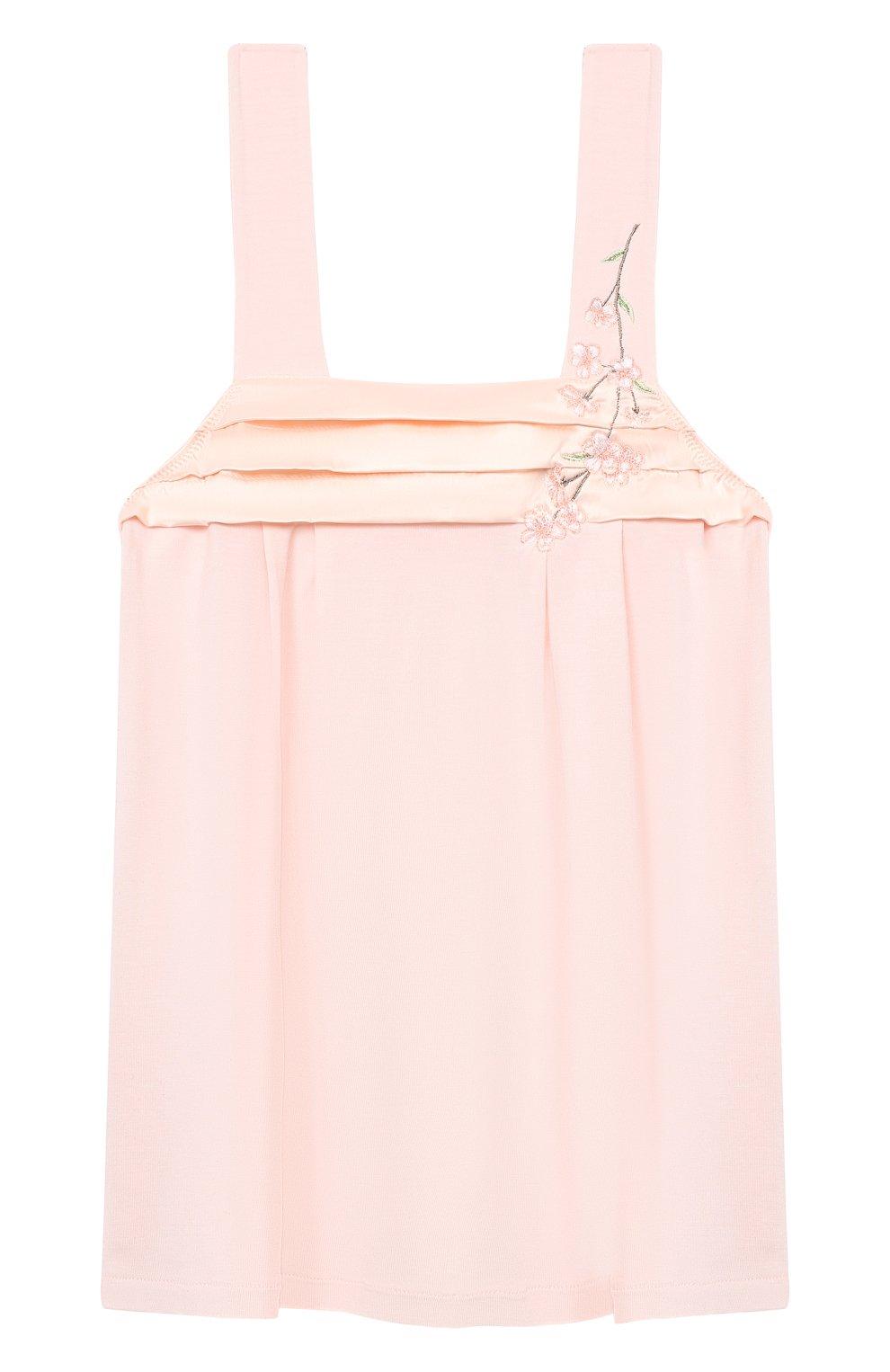 Детская пижама LA PERLA розового цвета, арт. 70151/2A-6A | Фото 2