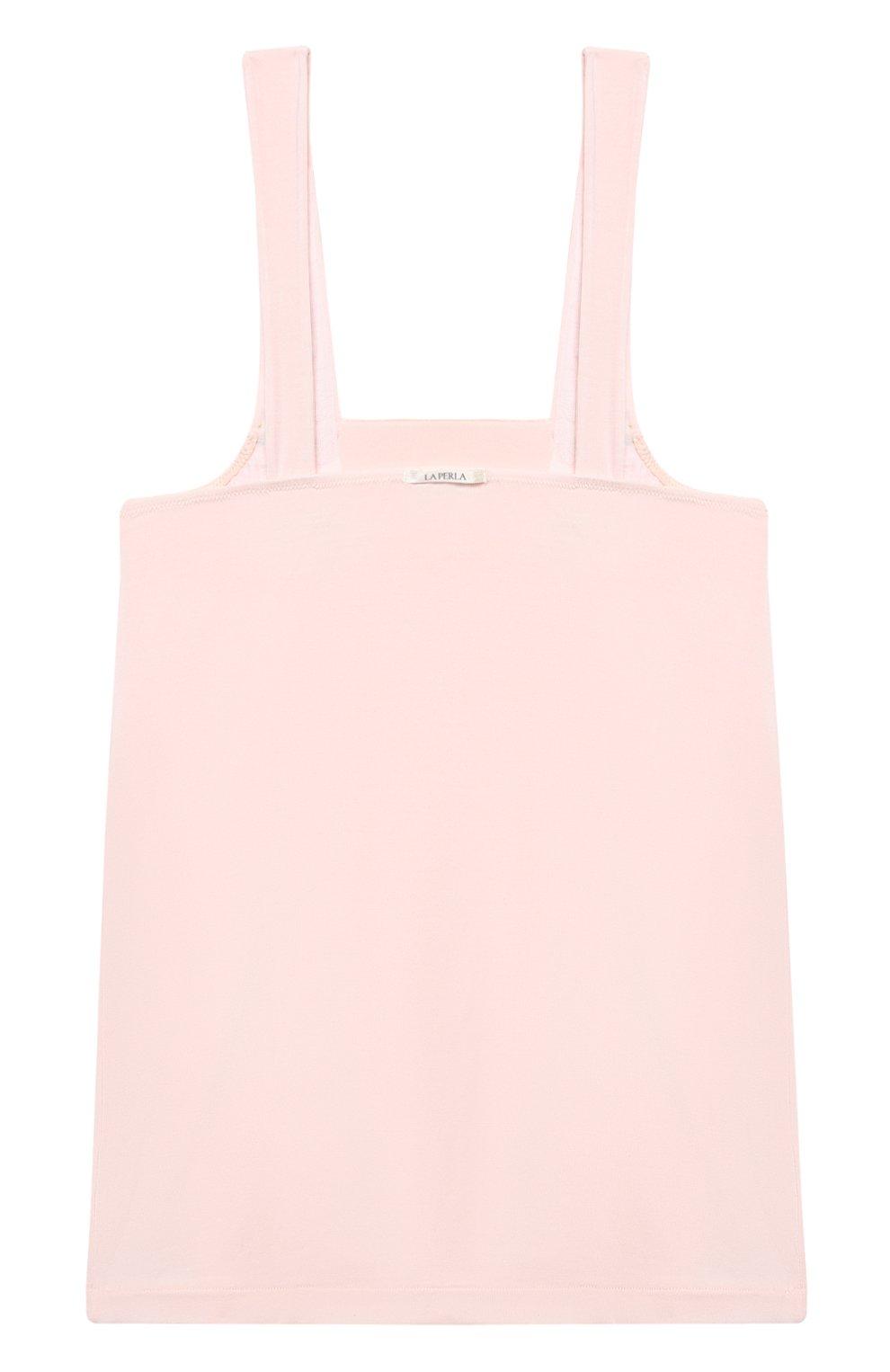 Детская пижама LA PERLA розового цвета, арт. 70151/2A-6A | Фото 3