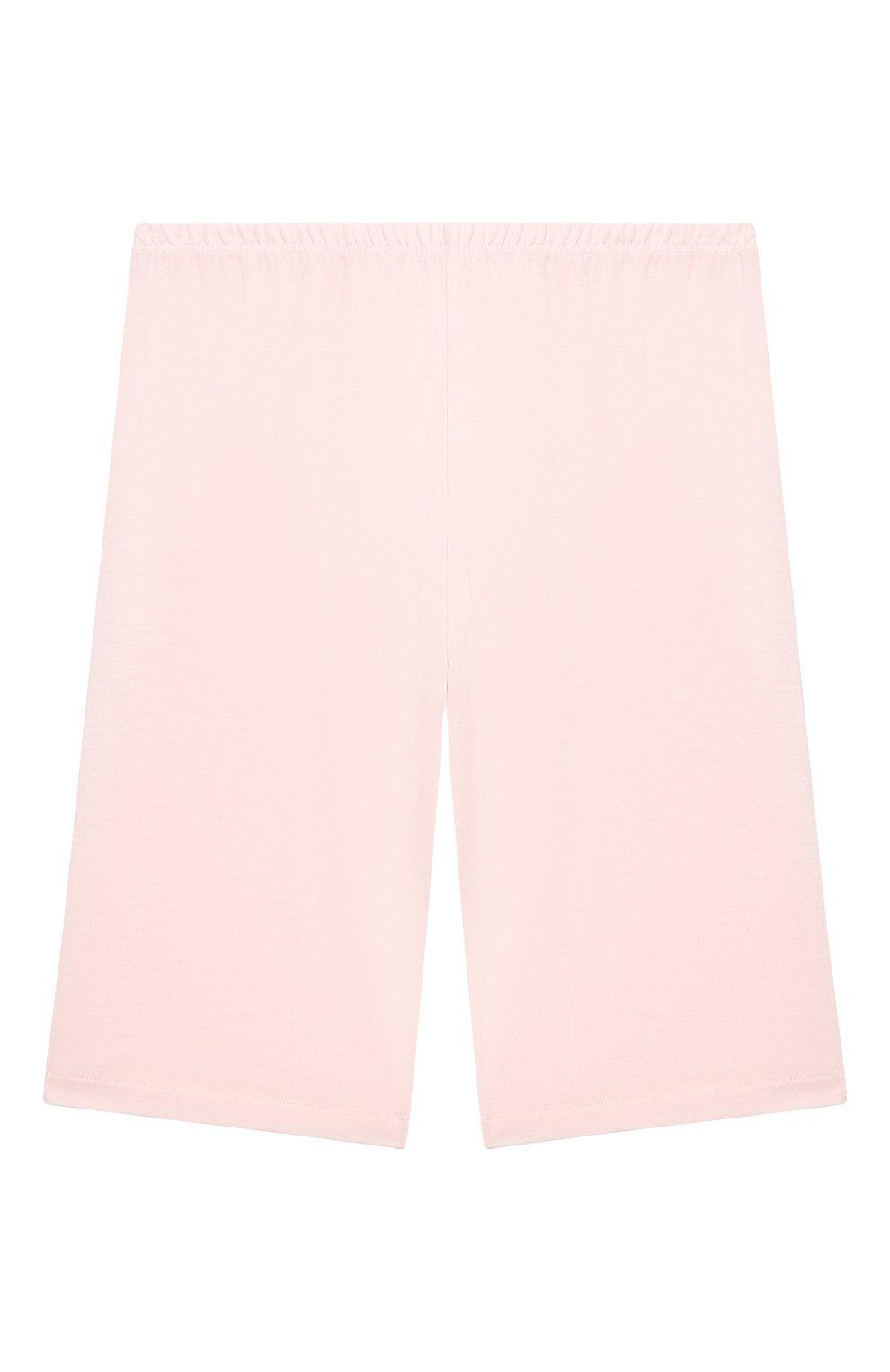 Детская пижама LA PERLA розового цвета, арт. 70151/2A-6A | Фото 4