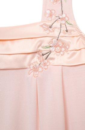 Детская пижама LA PERLA розового цвета, арт. 70151/2A-6A | Фото 6