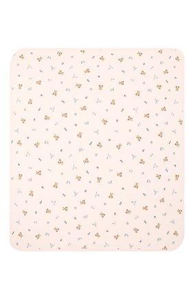 Детского хлопковое одеяло POLO RALPH LAUREN розового цвета, арт. 310833442   Фото 2
