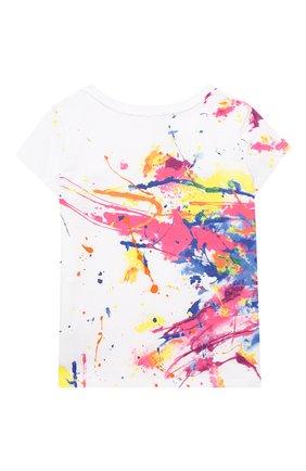 Детская хлопковая футболка POLO RALPH LAUREN разноцветного цвета, арт. 311833551 | Фото 2