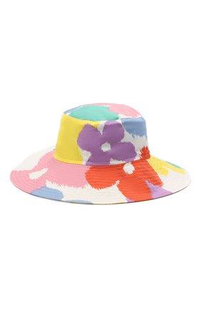 Детская хлопковая панама STELLA MCCARTNEY разноцветного цвета, арт. 602799/SQKA4 | Фото 1