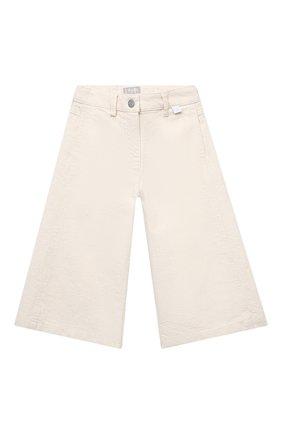 Детские брюки IL GUFO бежевого цвета, арт. P21PR043J0031/2A-4A | Фото 1