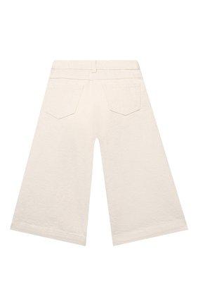 Детские брюки IL GUFO бежевого цвета, арт. P21PR043J0031/2A-4A | Фото 2