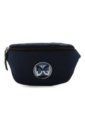 Детская поясная сумка DOLCE & GABBANA синего цвета, арт. DQ0072/B9G37 | Фото 1