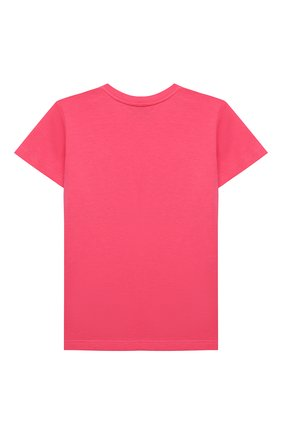 Детский хлопковая футболка GUCCI розового цвета, арт. 548034/XJC7M | Фото 2
