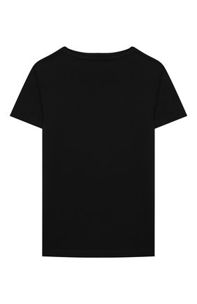 Детская хлопковая футболка GUCCI черного цвета, арт. 561651/XJC7M | Фото 2