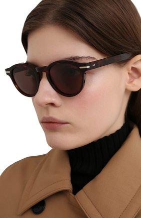 Женские солнцезащитные очки CUTLERANDGROSS коричневого цвета, арт. 133802 | Фото 2