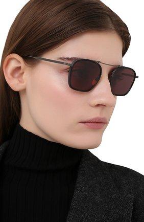 Женские солнцезащитные очки JACQUES MARIE MAGE черного цвета, арт. BAUDELAIRE JMMBL-84 | Фото 2