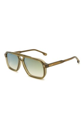 Мужские солнцезащитные очки JACQUES MARIE MAGE хаки цвета, арт. FELS0N JMMFN-3N | Фото 1