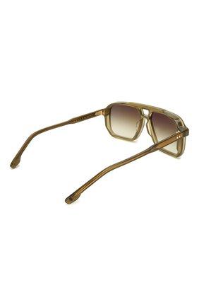 Мужские солнцезащитные очки JACQUES MARIE MAGE хаки цвета, арт. FELS0N JMMFN-3N   Фото 4 (Тип очков: С/з; Очки форма: Прямоугольные; Оптика Гендер: оптика-мужское)