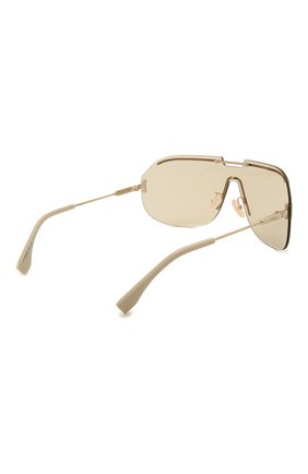 Женские солнцезащитные очки FENDI золотого цвета, арт. M0098 84E   Фото 5