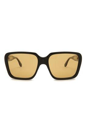 Мужские солнцезащитные очки GUCCI черного цвета, арт. GG0786S 001   Фото 3