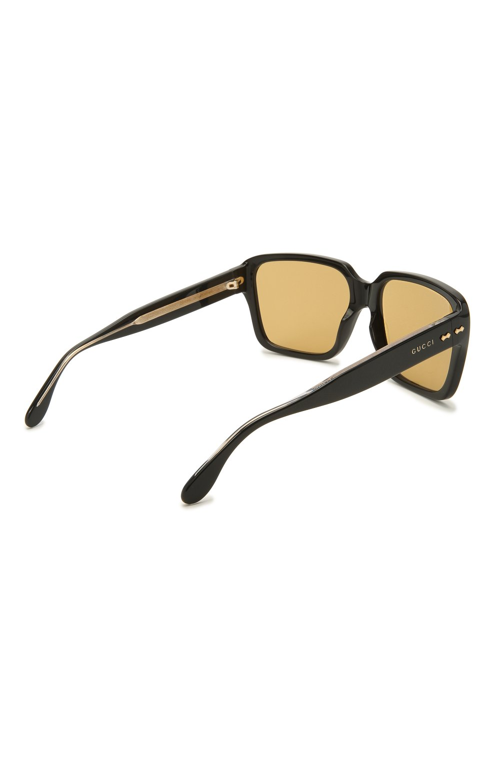 Мужские солнцезащитные очки GUCCI черного цвета, арт. GG0786S 001   Фото 4