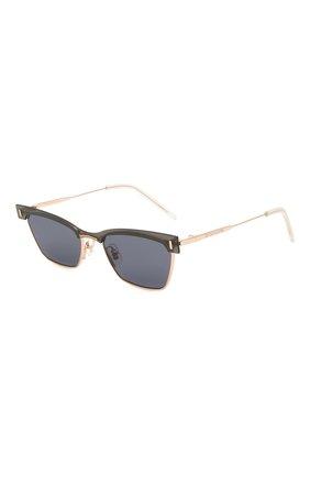 Женские солнцезащитные очки GENTLE MONSTER черного цвета, арт. KAL0 032(N) | Фото 1