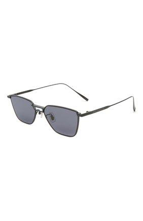 Женские солнцезащитные очки GENTLE MONSTER черного цвета, арт. KARMA M01 | Фото 1