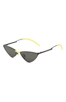 Женские солнцезащитные очки GENTLE MONSTER черного цвета, арт. KR0W M01 | Фото 1
