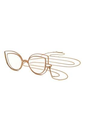 Женские цепочка для очков CAROLINE ABRAM золотого цвета, арт. D-PAPILL0N 3 | Фото 1