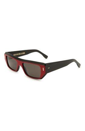 Женские солнцезащитные очки CUTLERANDGROSS красного цвета, арт. 136703 | Фото 1