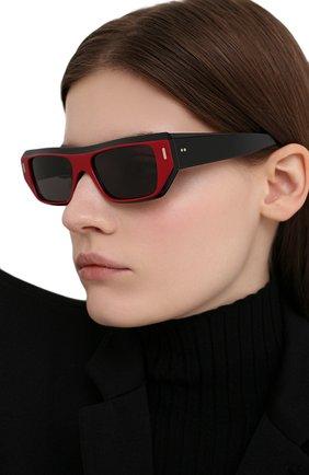 Женские солнцезащитные очки CUTLERANDGROSS красного цвета, арт. 136703 | Фото 2