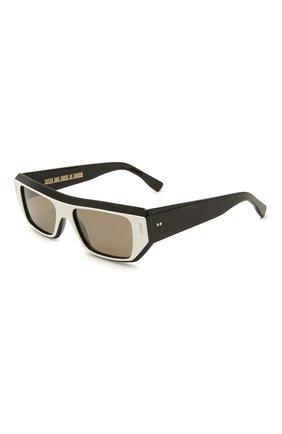 Женские солнцезащитные очки CUTLERANDGROSS черно-белого цвета, арт. 136704 | Фото 1