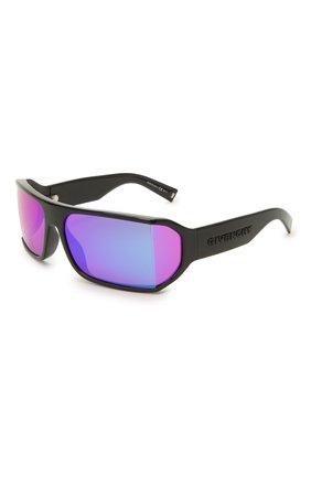 Женские солнцезащитные очки GIVENCHY черного цвета, арт. 7179 807 VQ | Фото 1