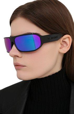 Женские солнцезащитные очки GIVENCHY черного цвета, арт. 7179 807 VQ | Фото 2