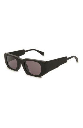 Женские солнцезащитные очки KUB0RAUM черного цвета, арт. U8 BM 2GRAY | Фото 1
