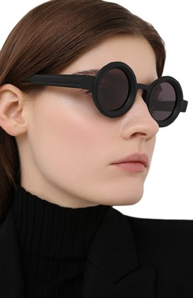 Женские солнцезащитные очки KUB0RAUM черного цвета, арт. Z30 BM 2GRAY | Фото 2