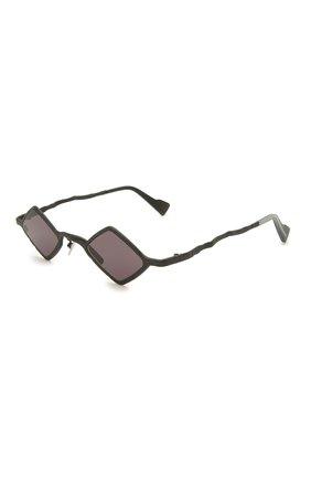 Женские солнцезащитные очки KUB0RAUM черного цвета, арт. Z14 BM 2GRAY | Фото 1