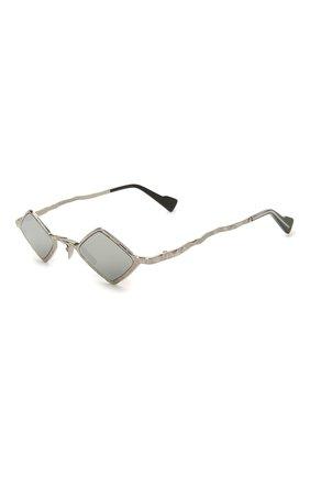 Женские солнцезащитные очки KUB0RAUM серебряного цвета, арт. Z14 SI SILVER | Фото 1