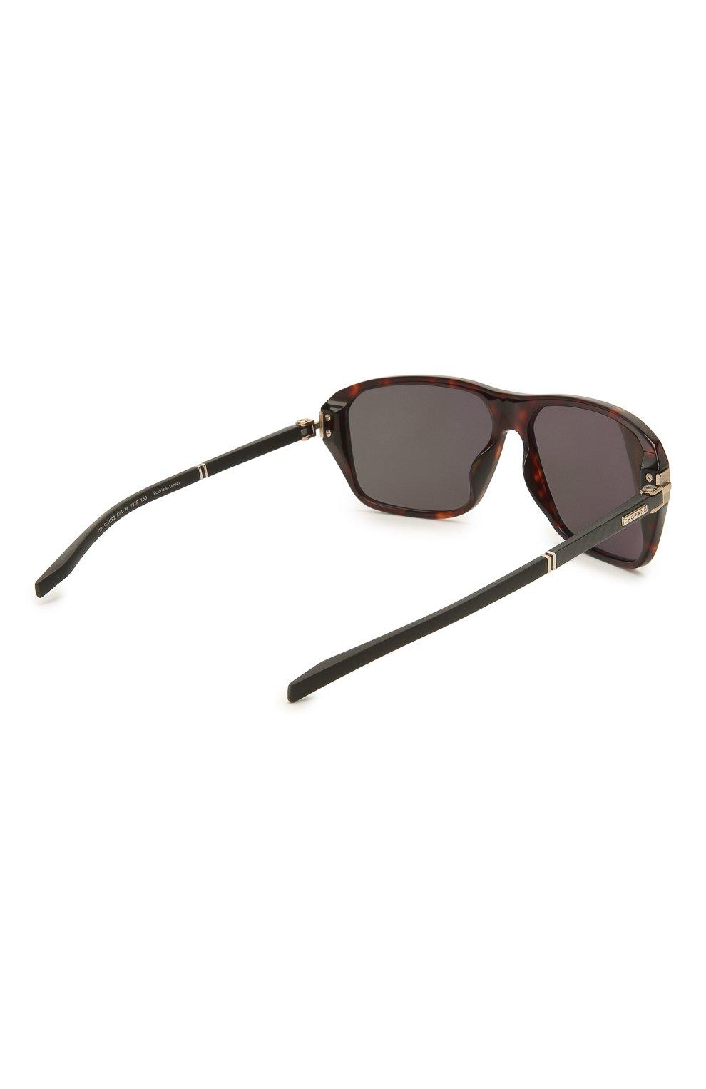 Мужские солнцезащитные очки CHOPARD коричневого цвета, арт. 292 722P | Фото 4