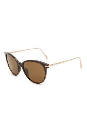 Женские солнцезащитные очки CHOPARD коричневого цвета, арт. 301 722   Фото 1