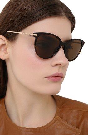 Женские солнцезащитные очки CHOPARD коричневого цвета, арт. 301 722   Фото 2