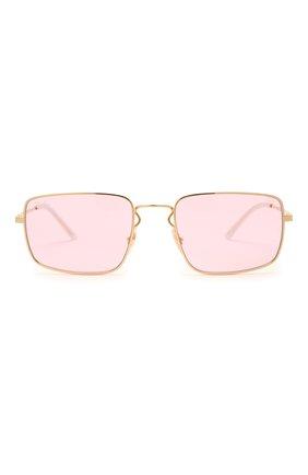 Женские солнцезащитные очки RAY-BAN розового цвета, арт. 3669-001/Q3 | Фото 4