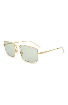 Женские солнцезащитные очки RAY-BAN бирюзового цвета, арт. 3669-001/Q5 | Фото 1
