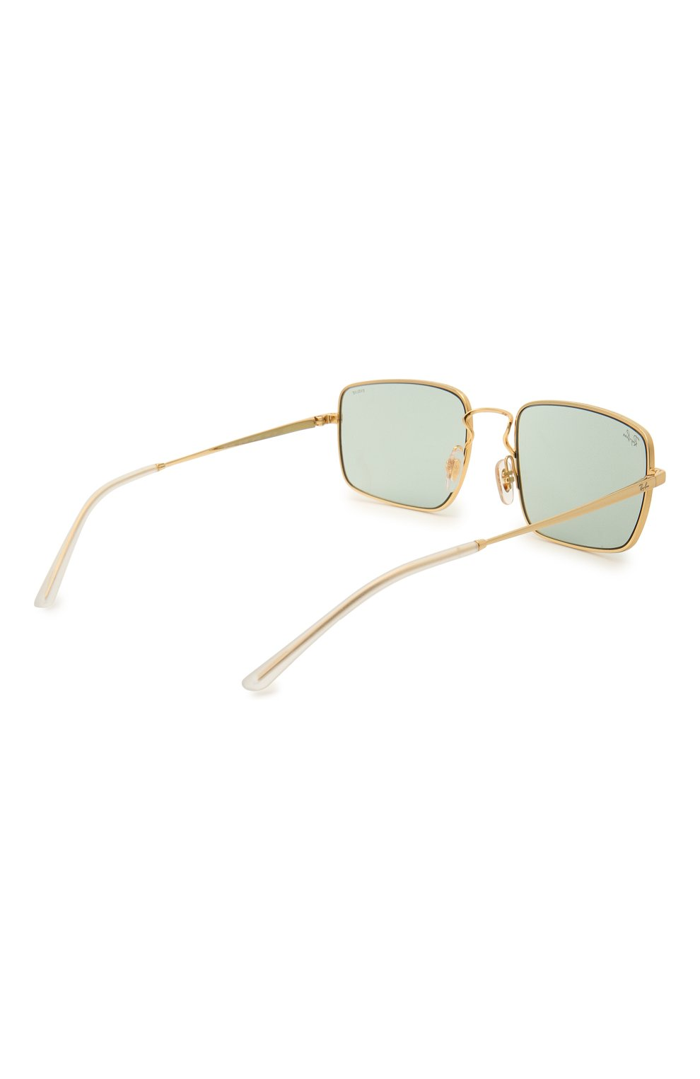 Женские солнцезащитные очки RAY-BAN бирюзового цвета, арт. 3669-001/Q5 | Фото 5